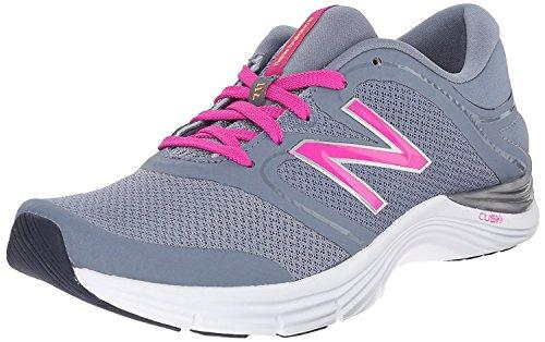 New Balance Women's 711v2 Training Shoe, Grey/Pink, 36 B(M) EU/3.5 B(M) UK