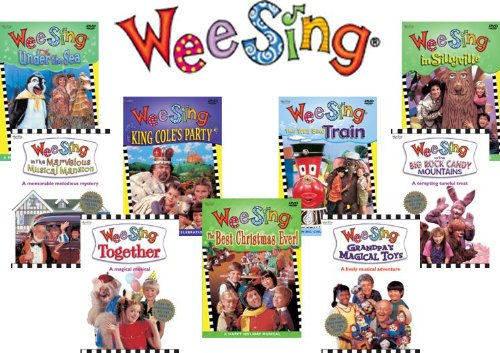 Wee Sing Complete DVD Collection (9 Discs) by Wee Sing Productions