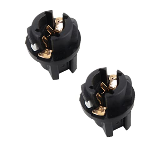 TecnoStore® - 2 portalámparas de rosca T10 W5W para bombillas LED