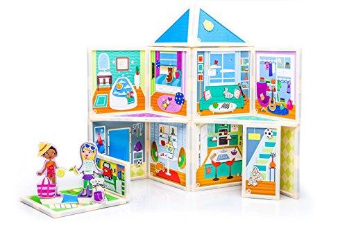 Build & Imagine: Malia's House (award-winning magnetic dollhouse you design yourself) by Build & Imagine (Image #1)