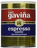 Gaviña Espresso Extra Fine Grind 10 Ounce Can