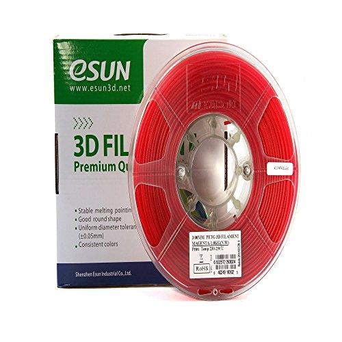 eSUN Magenta Filament Diameter Semi transparent