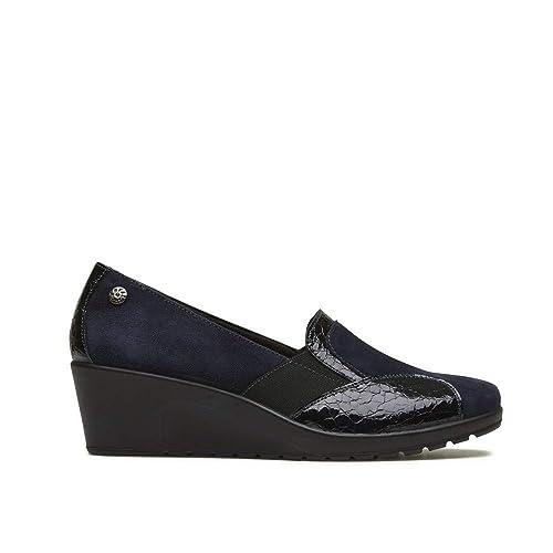 ENVAL SOFT 2257922 Mocassino Slip on Sneakers Zeppa Donna Memory Foam   Amazon.it  Scarpe e borse 9bc847468a9