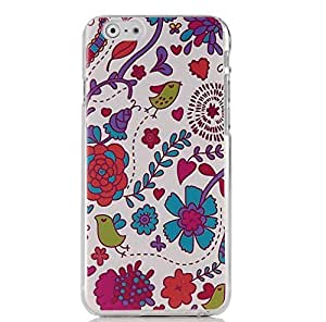 "iPhone 6 (4.7"") Case - Sunshine Case Mobile Phone Accessory Case Fashion Style Painted Colorful Pattern Protetive Hard Phone Cover Case Cell Phone Back Cover Case for iPhone 6 (4.7"") 4.7 inch Cover shell (Flowers)"