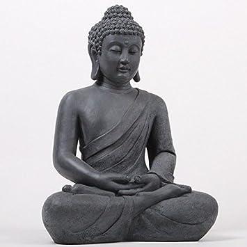 Asiatische Dekoartikel amazon de deko asien buddha figur statue skulptur feng shui 52cm