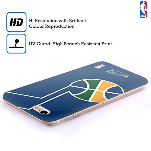 Officiel NBA Icône Surdimensionnée Utah Jazz Étui Coque en Gel molle pour Apple iPhone 4 / 4S