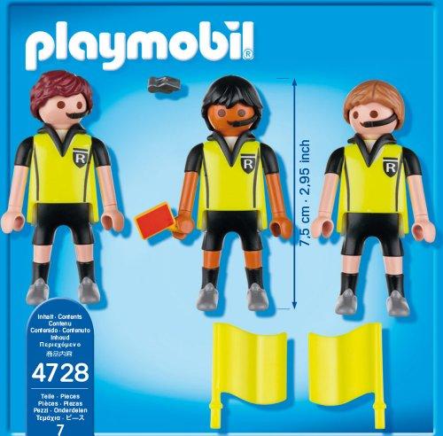 Jouet Playmobil 4728  Trio arbitral  La Minuté Bébé