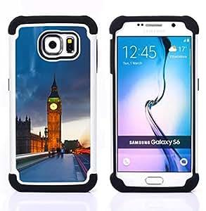 - The Big Ben London/ H??brido 3in1 Deluxe Impreso duro Soft Alto Impacto caja de la armadura Defender - SHIMIN CAO - For Samsung Galaxy S6 G9200