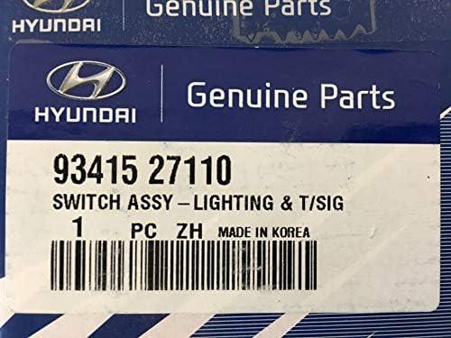 Genuine Hyundai 93415-27110 Lighting and Turn Signal Switch Assembly