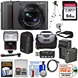 Panasonic Lumix DC-ZS200 4K Wi-Fi Digital Camera (Silver) with 64GB Card + Battery & Charger + 2 Cases + Flash + Tripod + Kit Review