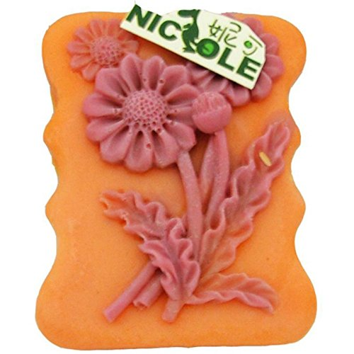Sunflower Silicone Soap Bar Mold (Mini Bridge Stereo)