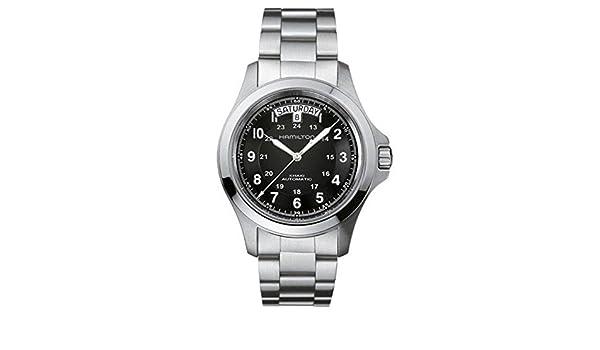 Hamilton 758501625849 H64455133 - Reloj, correa de acero: Amazon.es: Relojes