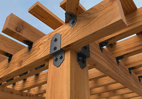 OZCO Ornamental Wood Ties Post To Beam Bolt Offset Laredo Sunset by OZCO (Image #5)