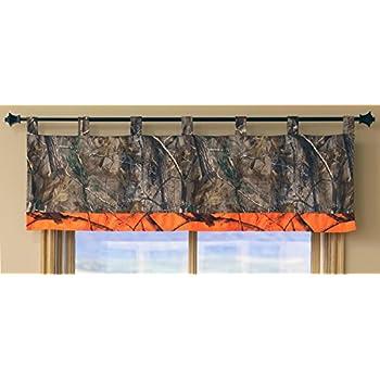 Carstens Real Tree AP Camo 3 piezas Juego de sábanas de cuna Naranja