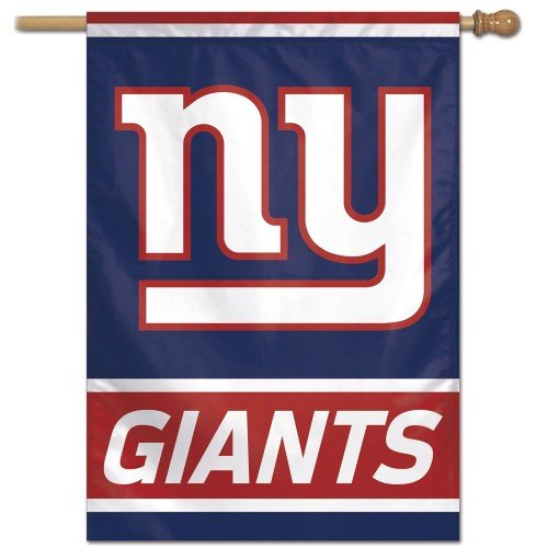 NFL New York Giants 27-by-37-Inch Vertical Flag ()