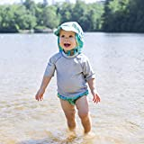 i play. by green sprouts Baby Rashguard, Gray, 6