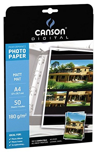 Canson Glossy Photopaper 180G 50 A4 Paper