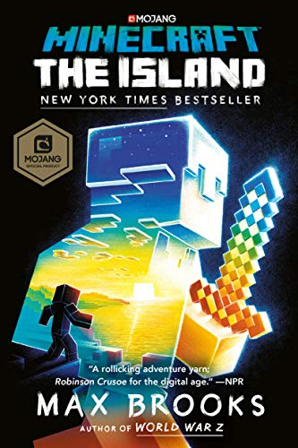 Minecraft: The Island: An Official Minecraft Novel (Things To Make With Redstone In Minecraft)