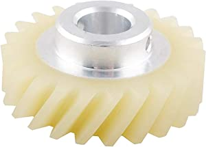 HASMX 4162897 W10112253 Mixer Worm Gear for Whirlpool Kenmore KitchenAid Mixers W10112253, AP4295669, 1206513, 4161531, 4162897, 4169830, AH1491159, EA1491159, PS1491159, WPW10112253, LP16673