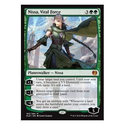 Magic: the Gathering - Nissa, Vital Force (163/264) - Kaladesh