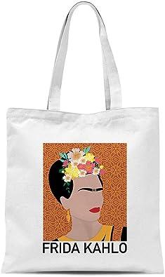 All Sas Bolsa shopper Frida Kahlo 100% tela de algodón estampado ...