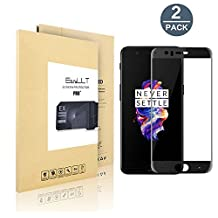 [2 pack] OnePlus 5 Screen Protector[Full Coverage], EasyULT Premium Tempered Glass Screen Protector,with Double Defense Technology with [9H Hardness] [Crystal Clear] [Scratch Resist] [No-Bubble]
