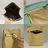 Kraft Paper Stand Up Coffee Bag/Flat Bottom Pouch