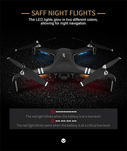 MOZATE JJRC X7 5G-WiFi FPV GPS 1080P HD Camera Remote RC Drone Quadcopter Altitude Hold (Black) by MOZATE (Image #8)