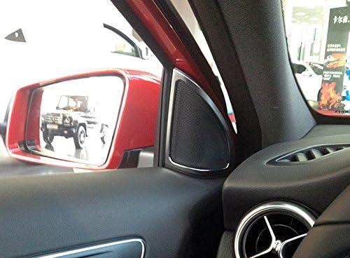 High Flying Für A Klasse W176 2013 2017 Interieur Tür A Säule Lautsprecher Interieurleisten Matt Auto