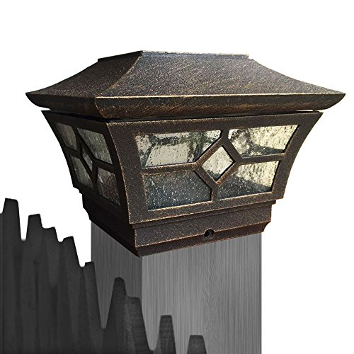 CHEEKON Square Fences Post Caps 4
