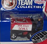 New Jersey Devils 1996 Zamboni 1:50 Scale White Rose Collectible NHL Diecast Car