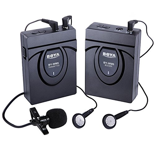Wireless Lavalier Microphone Camcorder Recorders