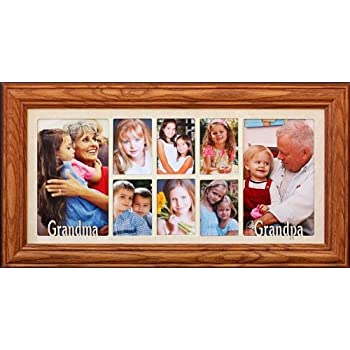 Amazon Com 7x15 Grandma Grandpa Multi Portrait Collage
