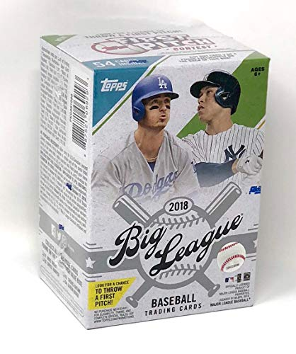 Large Product Image of Topps 2018 Big League Baseball Retail Mass Value Box
