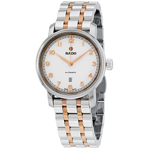 Rado Women's Swiss Automatic DiaMaster Two-Tone Stainless Steel Bracelet Watch 33mm R14050133
