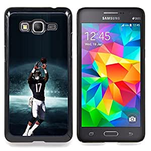 - 17 NFL Football - - Cubierta del caso de impacto con el patr??n Art Designs FOR Samsung Galaxy Grand Prime G530H G5308 Queen Pattern
