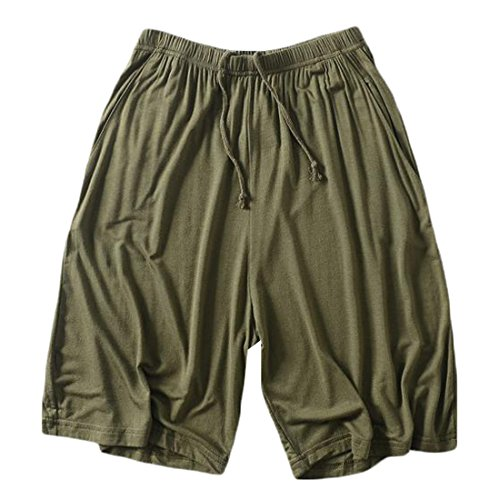 cheap Generic Mens Fashion Relaxed Sport Solid Shorts Sleep Lounge Pants