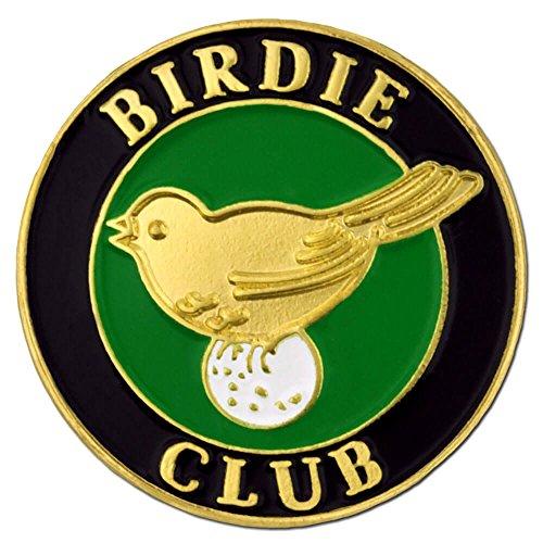 PinMart Birdie Club Golf Golfing Enamel Lapel Pin -