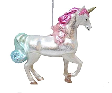 december diamonds unicorn christmas tree ornament holiday decoration - Unicorn Christmas Decorations