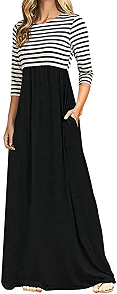 New Womens Ladies Pencil Striped Bodycon High Waist Tube Wiggle Long Maxi Skirt