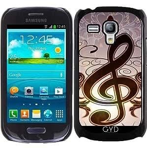 Funda para Samsung Galaxy S3 Mini (GT-I8190) - Música, Clef by nicky2342