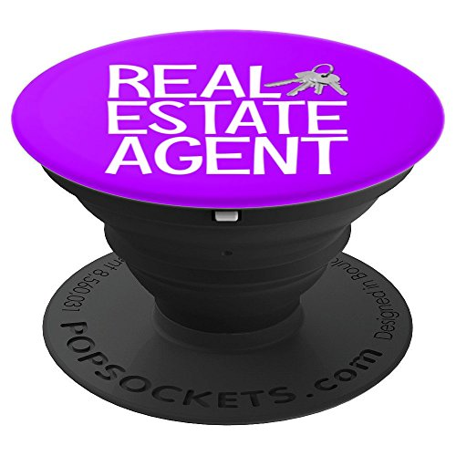Funny Real estate agent REA gift - PopSockets Grip and Stand for Phones and Tablets