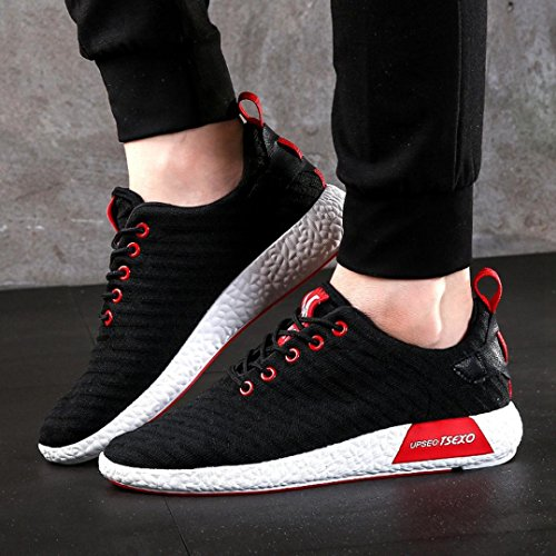 Uomo Sneakers Uomo Nero beautyjourney da Uomo da Scarpe Scarpe Uomo da Lavoro Corsa Scarpe Ginnastica Scarpe Ginnastica Running Sportive Scarpe estive Uomo da Moda Scarpe Uomo twY4qw