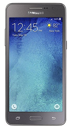 Samsung Galaxy Grand Prime Unlocked GSM Quad-Core Android Phone w/ 8MP Camera – Gray
