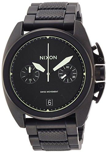 [ニクソン]NIXON ANTHEM CHRONO: ALL BLACK/LUM NA9301256-00 メンズ