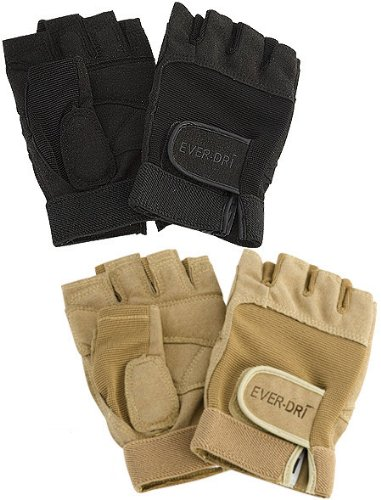 Director's Showcase EVER-DRI Color Guard Gloves (Black, (Color Training)