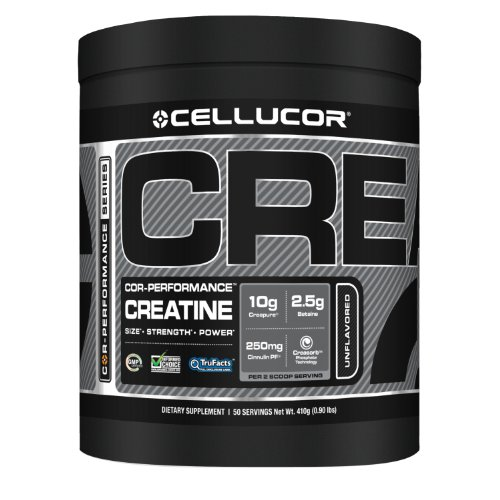 Cellucor COR-Performance Créatine, 50 portions, sans saveur (410 g)
