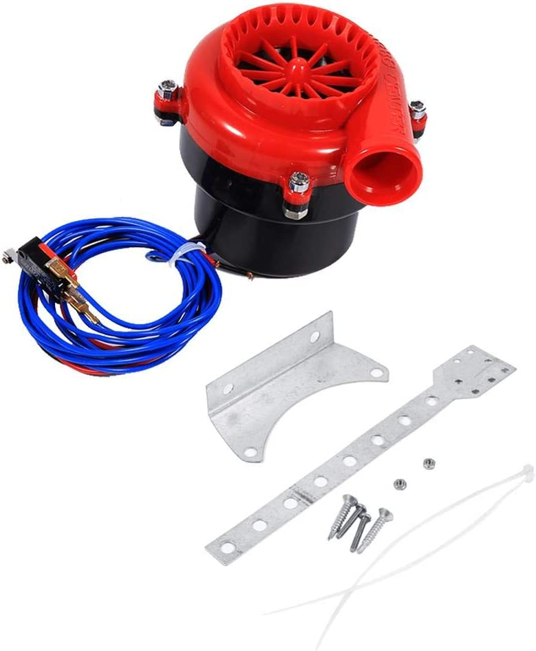Fake Dump Valve Turbo Car Electronic Fake Dump Turbo Blow Off Hooter Valve Analog Sound BOV Simulator Kit