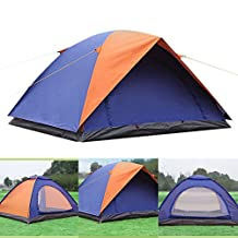 Ezyoutdoor Backpacker Waterproof PU, Durable Tear Resistant, Windproof 2-Person Camping/Hiking Tent with Gift Pad