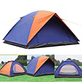 Ezyoutdoor Waterproof, Durable Tear Resistant, 3-Person Camping/Traveling Family Tent with Compression Bag
